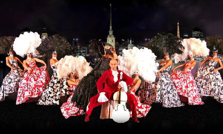 威尼斯狂欢节——假面舞秀