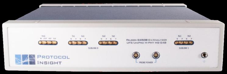 UFS/UniPro协议分析仪与训练器