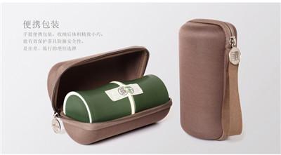 快客杯旅行功夫茶具套装_ 家用便携包式