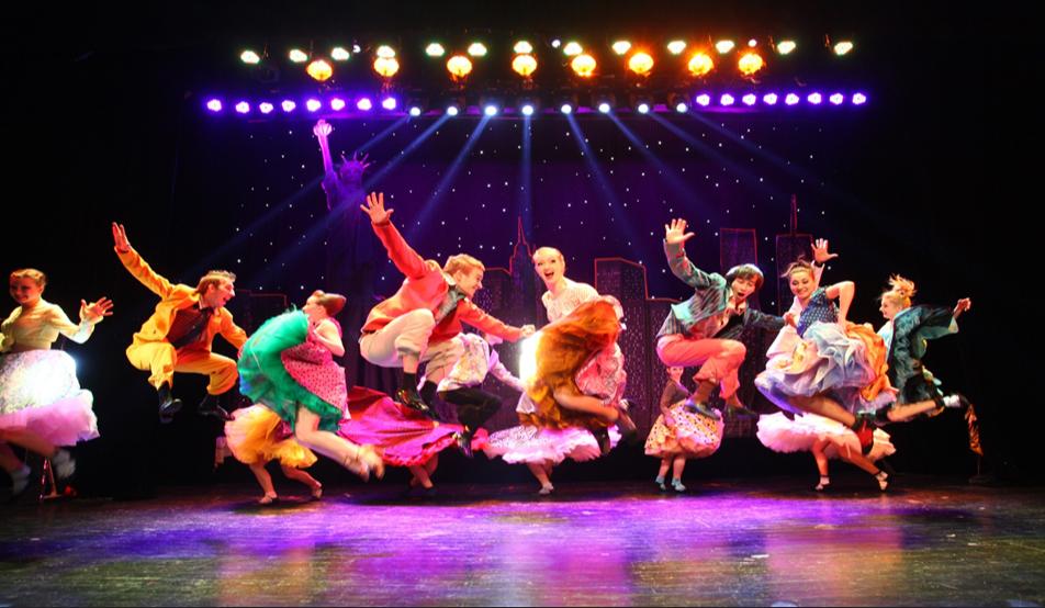 剧院、体育馆专场演出——大型歌舞秀