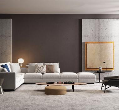 意大利Minotti沙发组合3d模型
