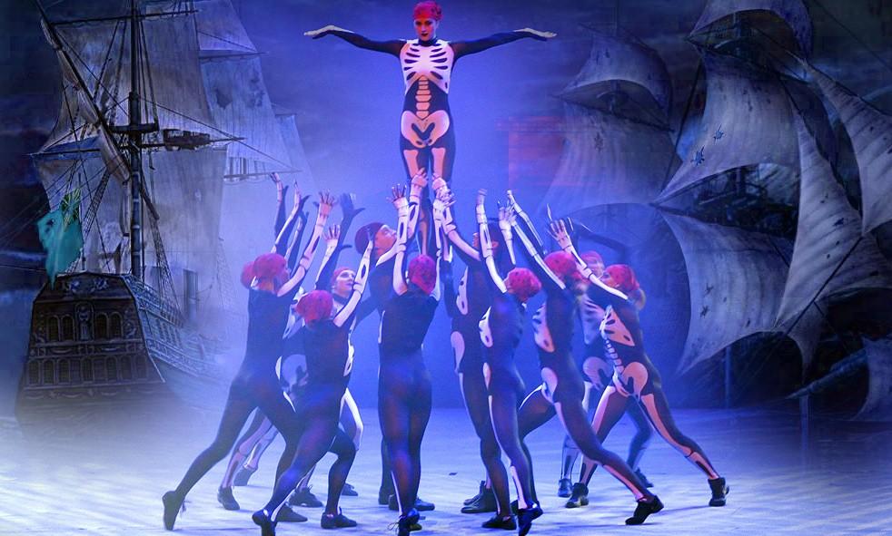 加勒比海盗骷髅舞系列——创意现代舞