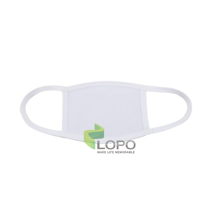 Fabric Face Mask-White