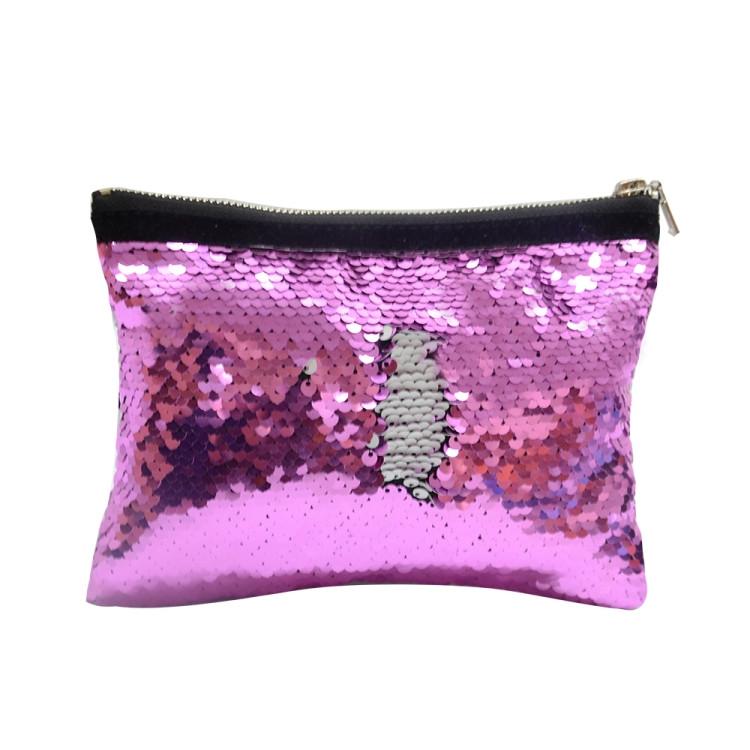 Sequin Hand bag-Purple