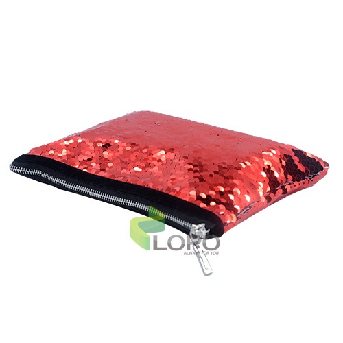 Sequin Hand bag-Red