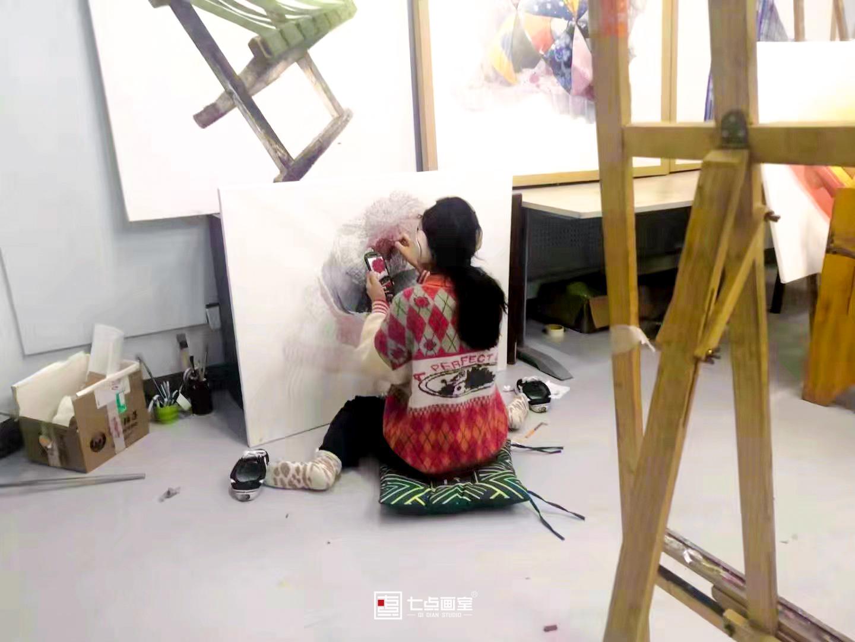 【硬核少女刘唤楠】从零基础到央美录取,她只做了这一件事——坚持