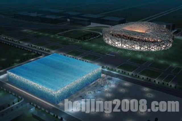 國家游泳中心天然氣工程