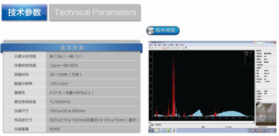 合金分析儀EDX8800H