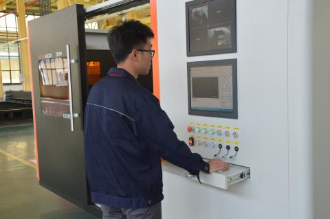 光纤激光切割机将机械五金制造推向新水平