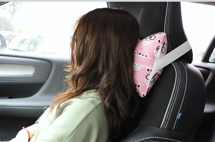 Soften Linen Car Pillow Case/Pair