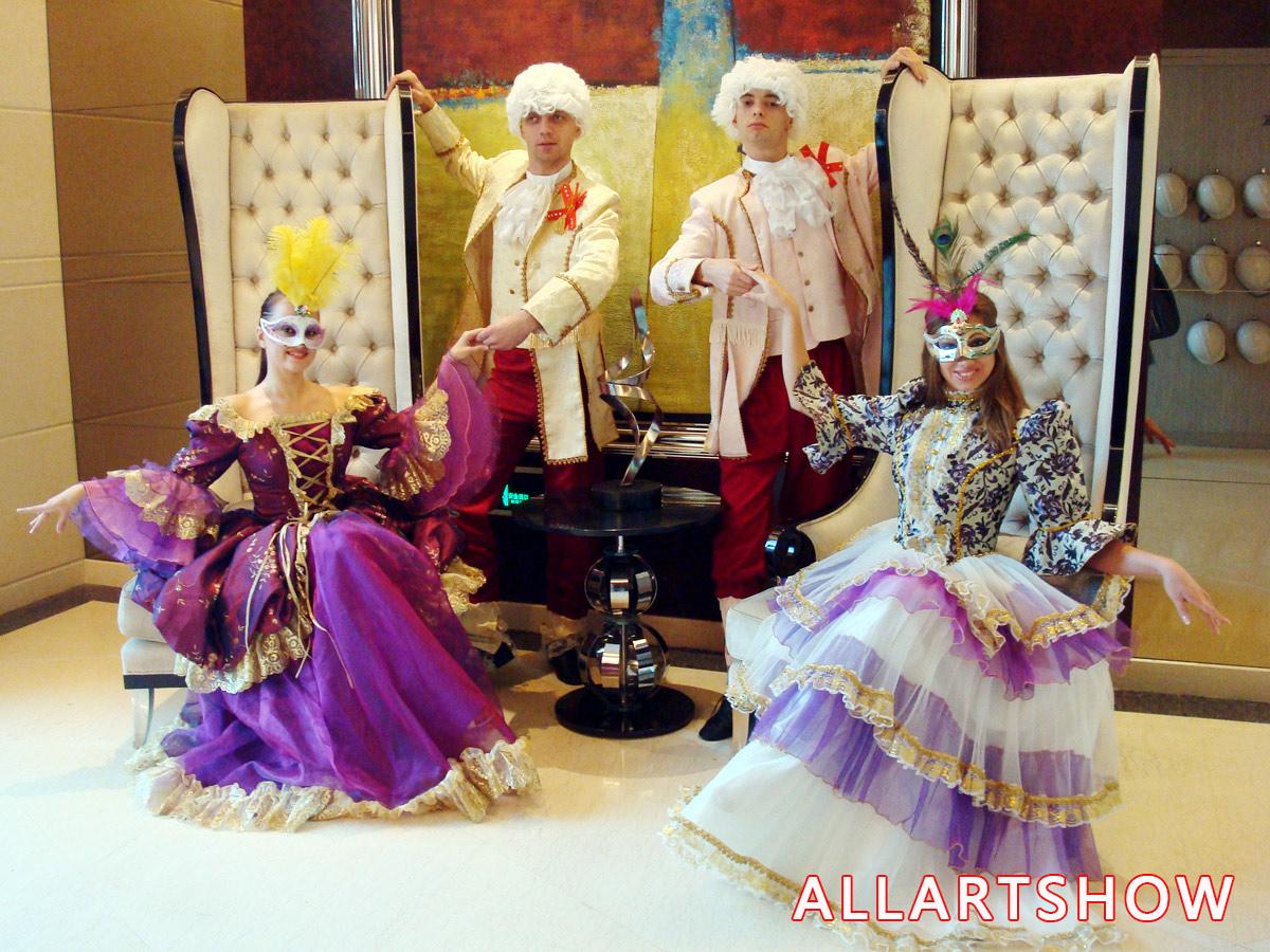 欧洲舞蹈——宫廷华舞