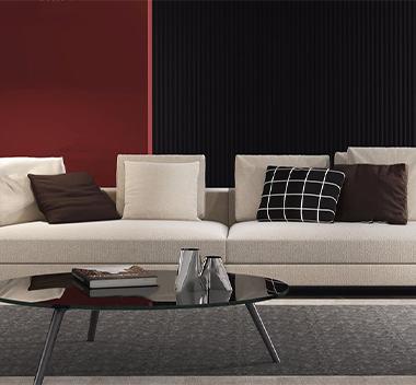 意大利Minotti多人沙发3d模型