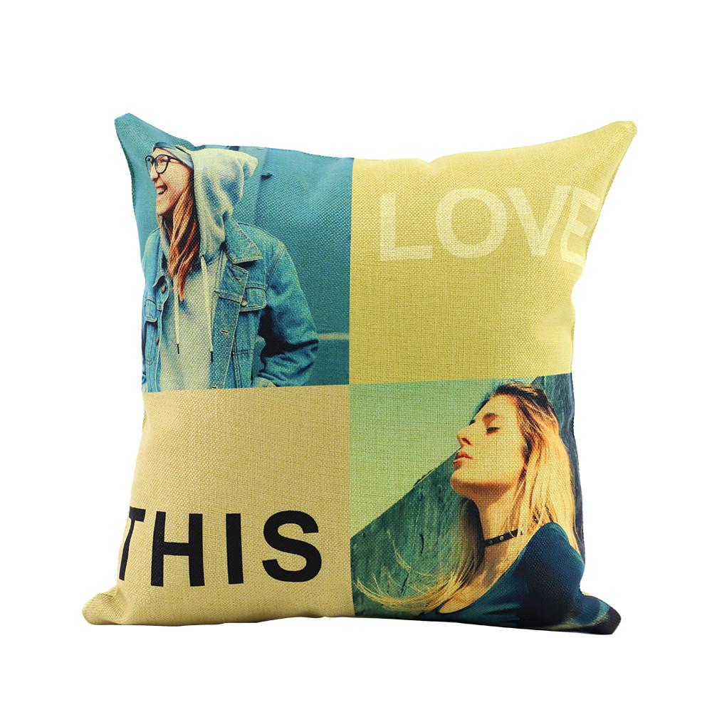 Linen Pillow Case-Green(1)