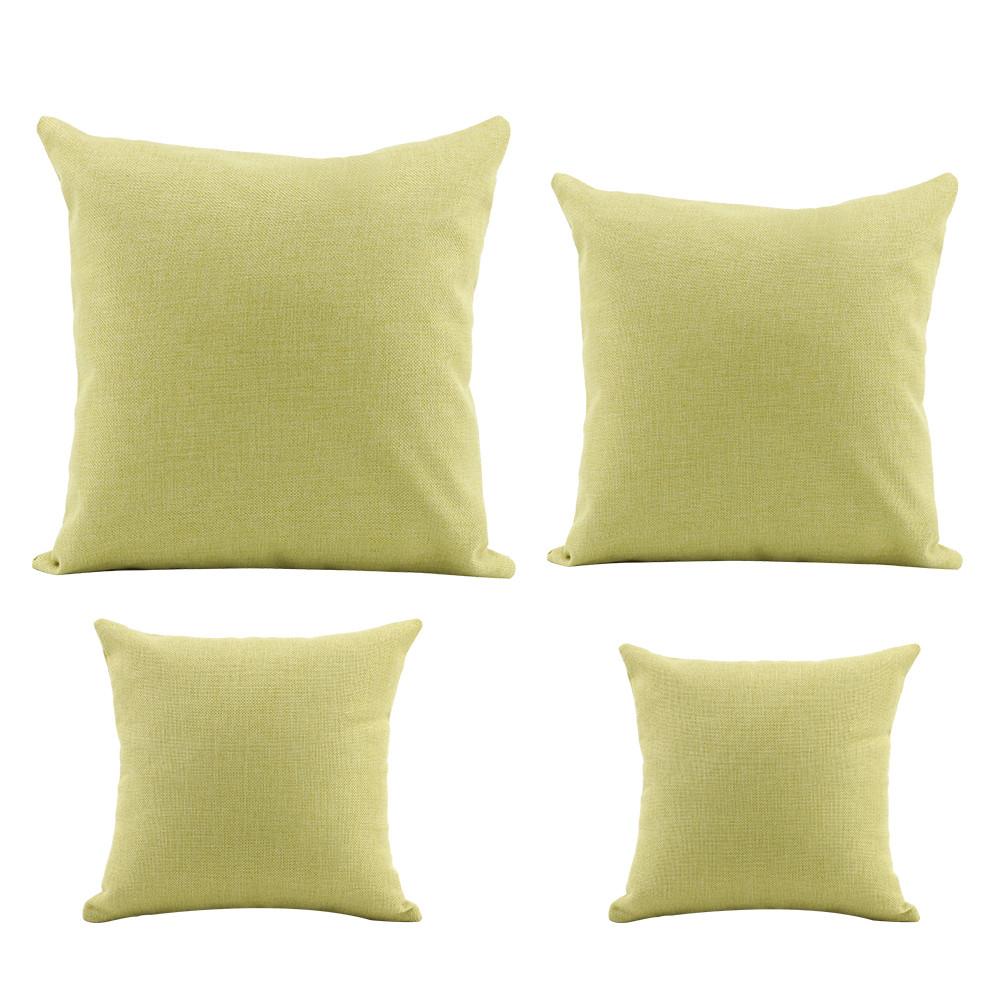Linen Pillow Case-Green
