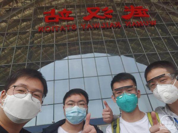 """西安市前线抗疫的技术""""逆行者""""平安返家"""