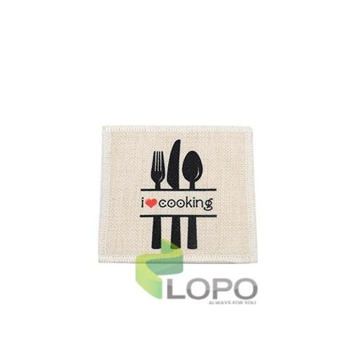 Linen Coaster-10*10CM