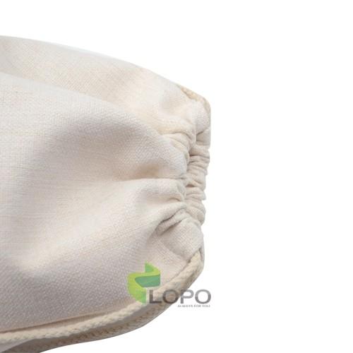 Linen Drawstring Bag