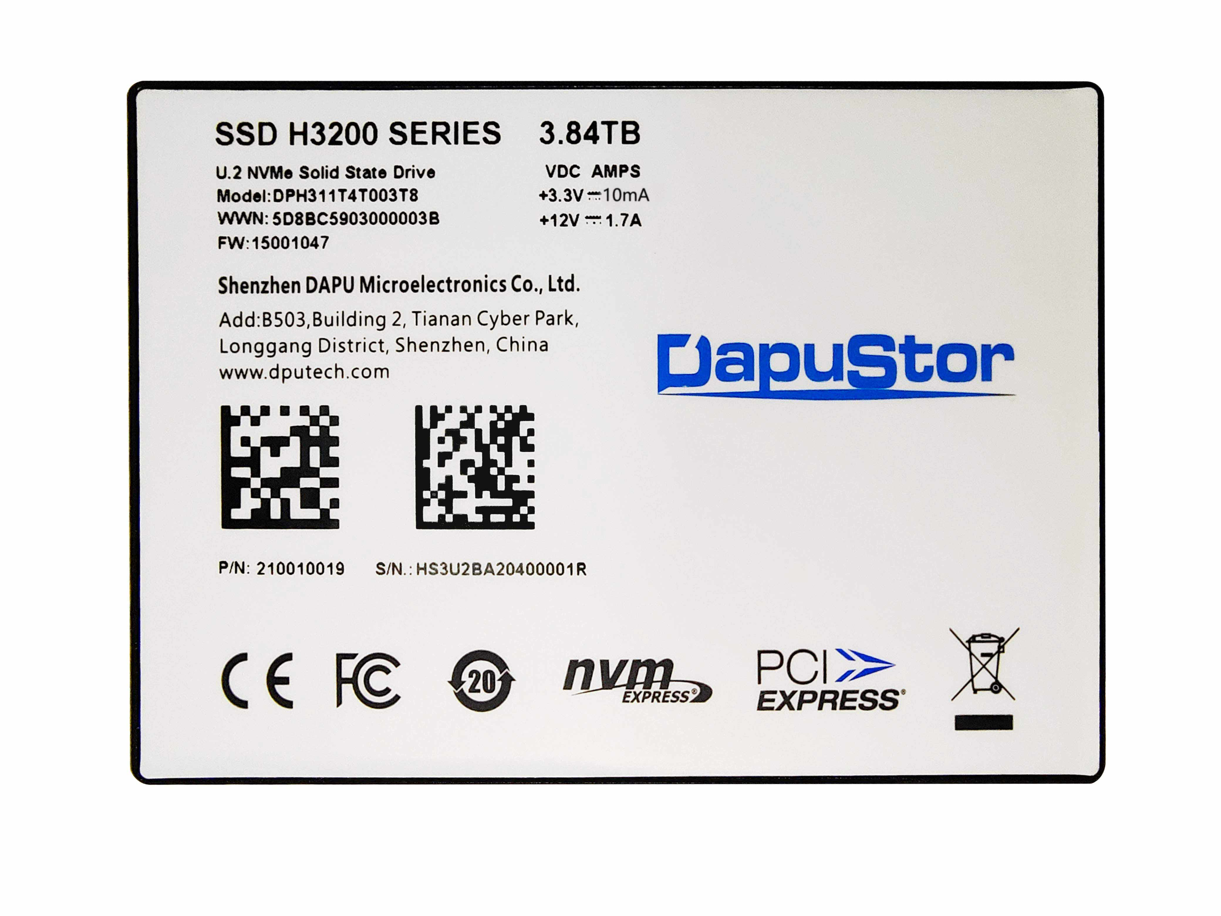 StorageReview - DapuStor Haishen3 H3200 NVMe SSD Review