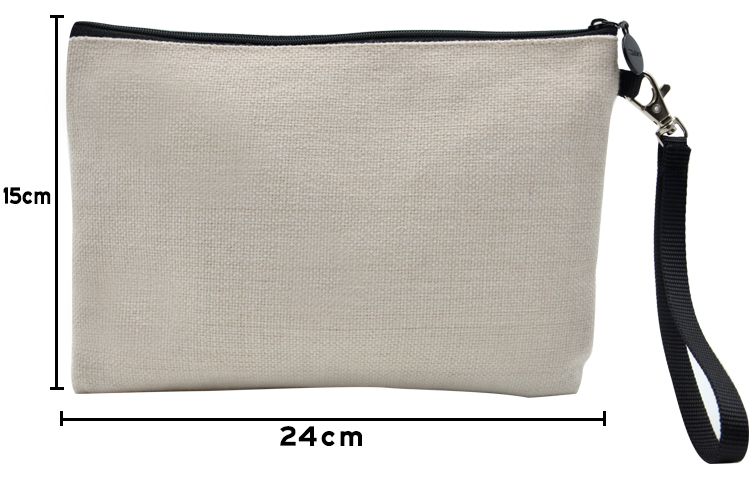 size for sublimation linen Handbag 15*24cm