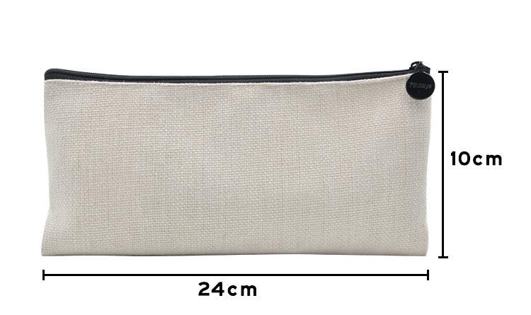 size for sublimation linen Handbag 10*24cm