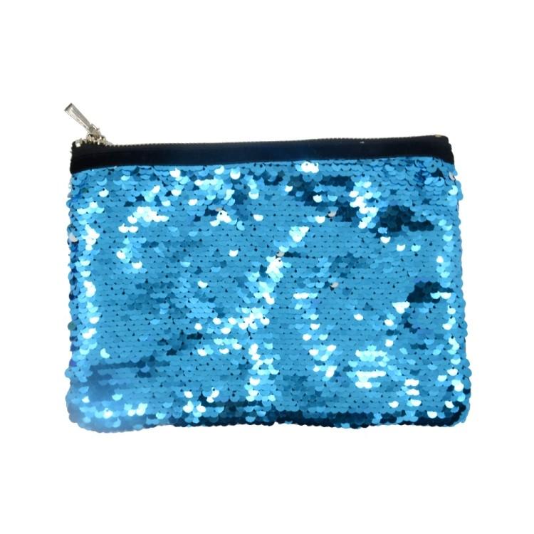 Sequin Hand bag-Blue