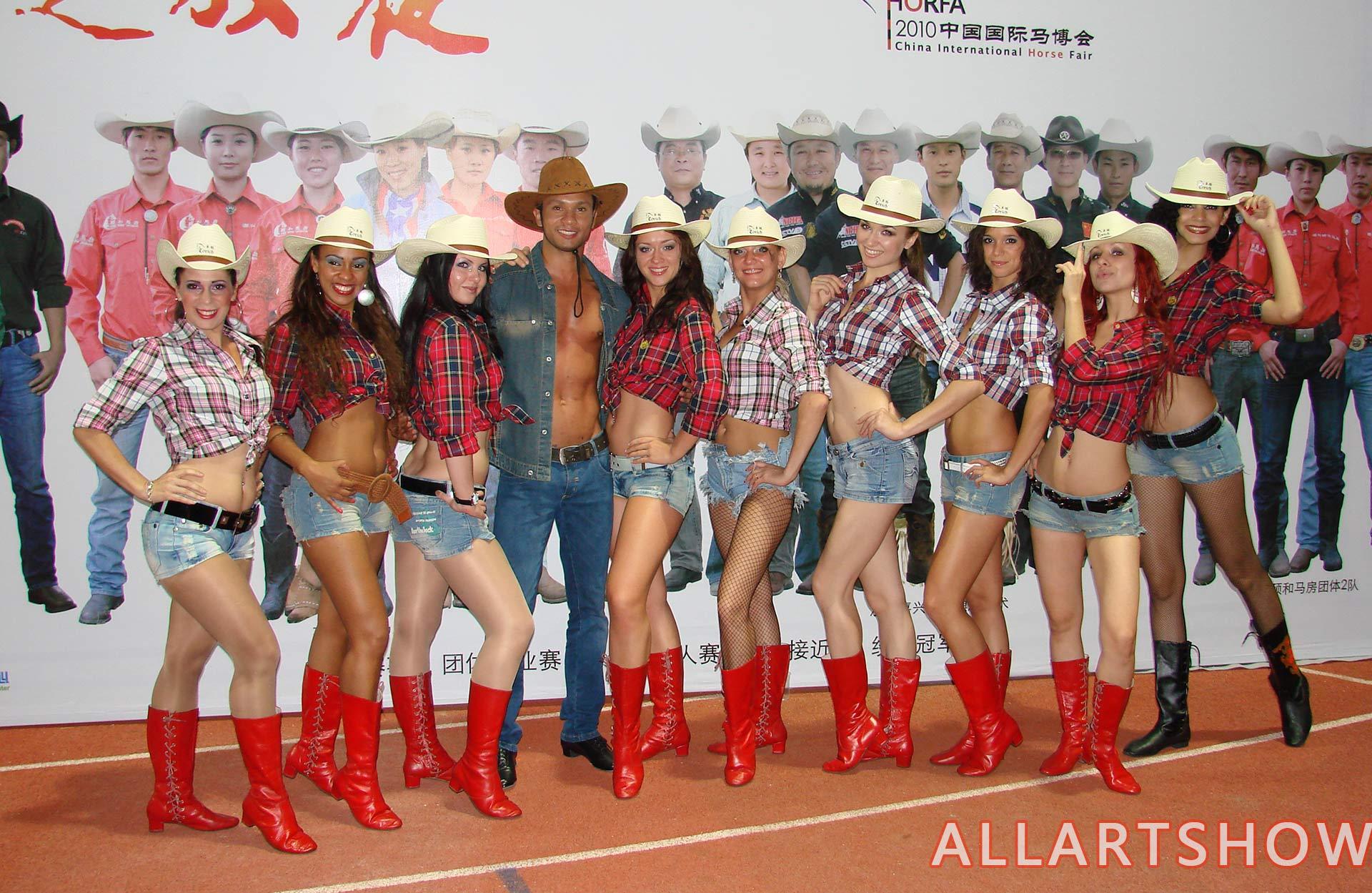 美国西部舞——牛仔舞