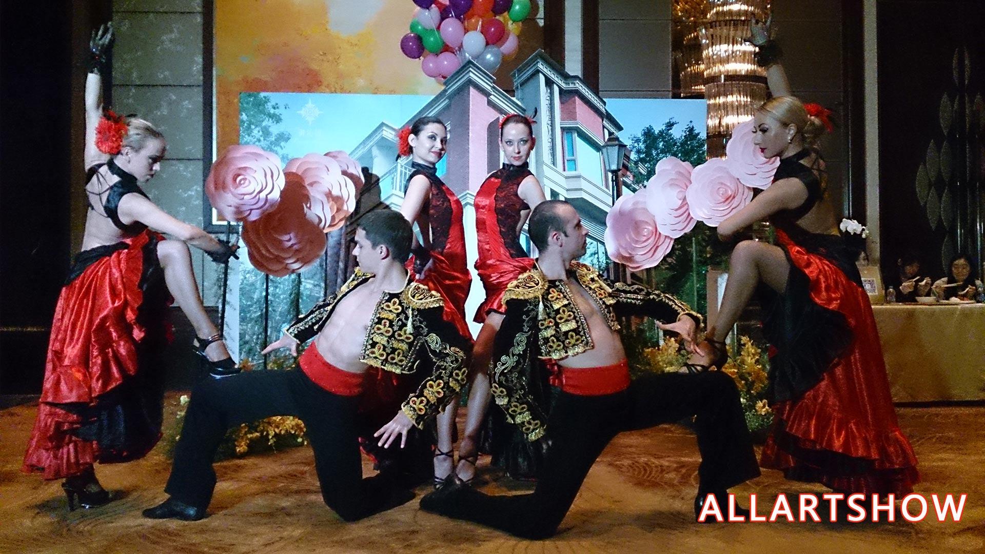 西班牙舞蹈——弗拉明戈
