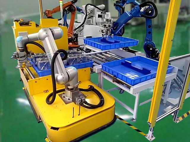 具备3D视觉感知功能的移动机器人