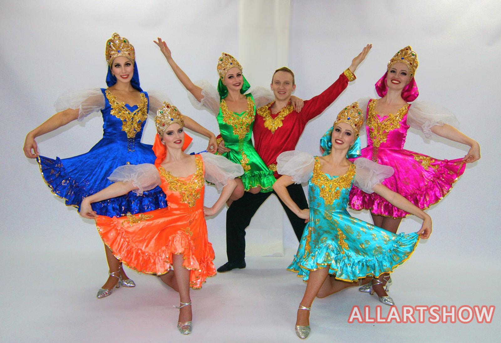 俄罗斯经典舞——民族舞蹈(一)