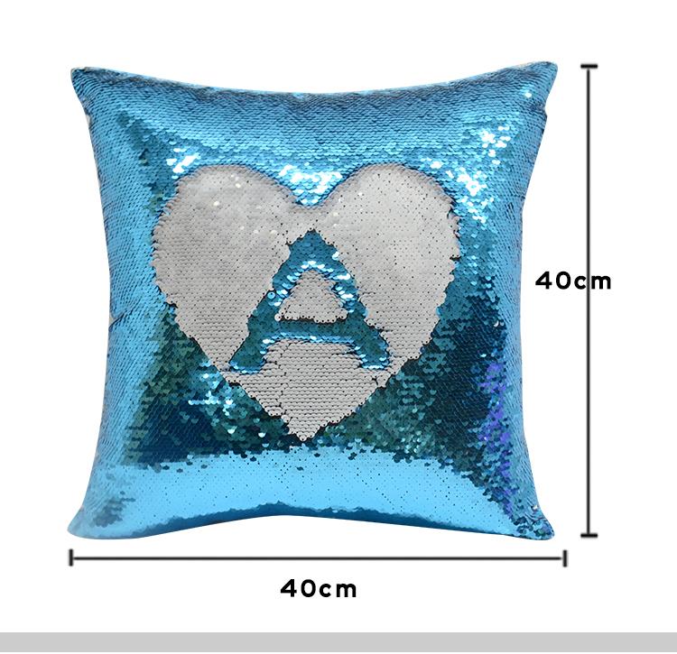 size for sublimation sequin pillow case