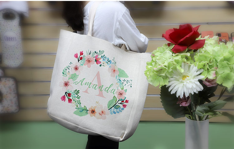 product image for linen tote bag