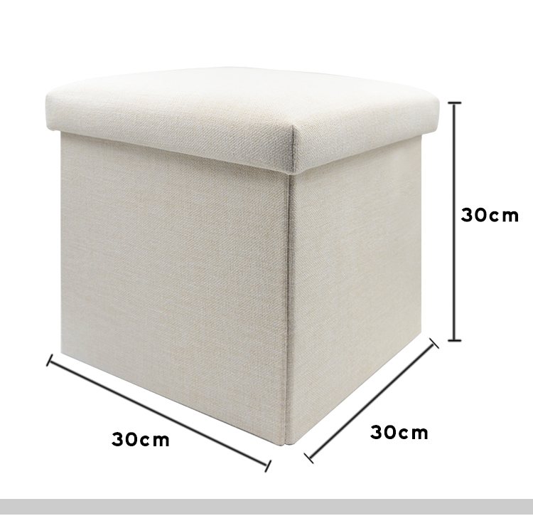 size for linen storage stool
