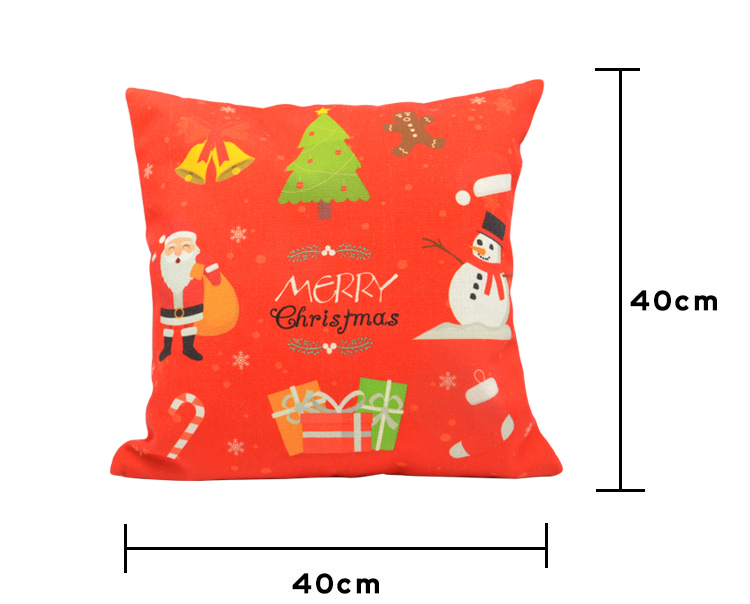 Linen Pillow Case Xmas 5