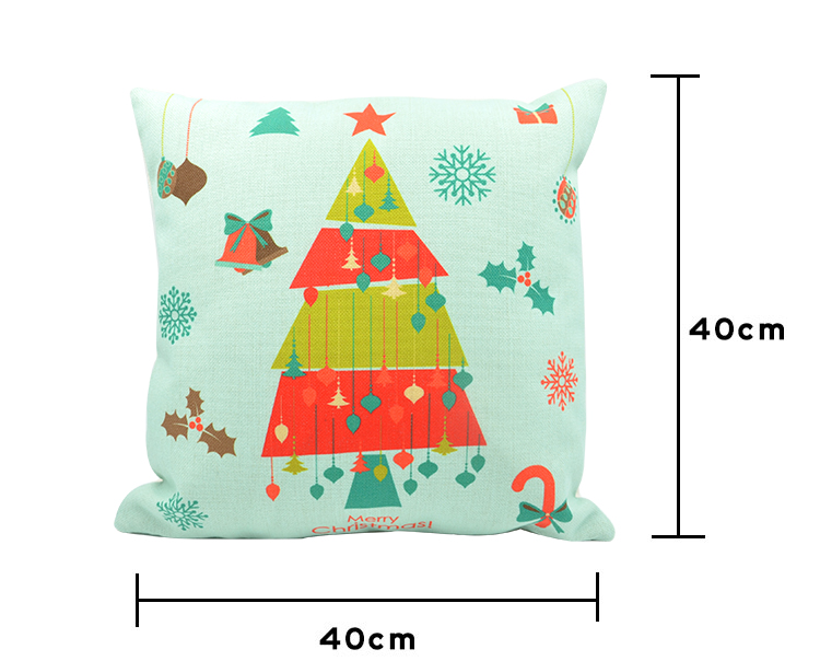 Linen Pillow Case Xmas 6