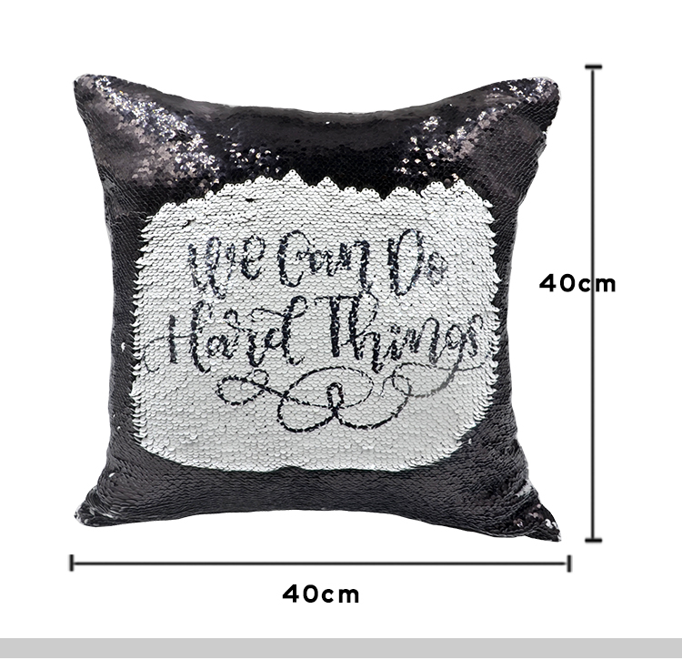sublimation sequin pillow