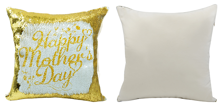 sublimation Sequin cushion cover square