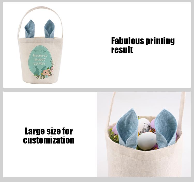 Sublimation easter basket