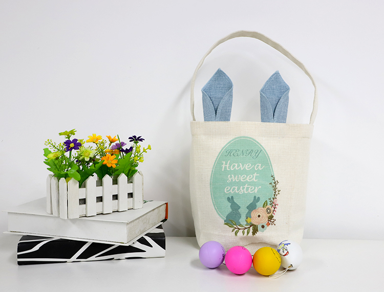 Sublimation bunny basket