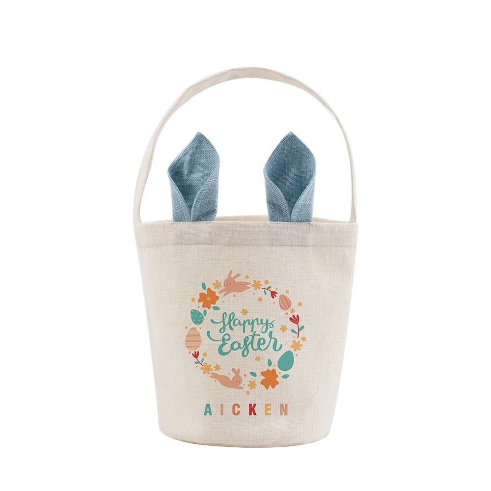 Linen Easter Basket(1)