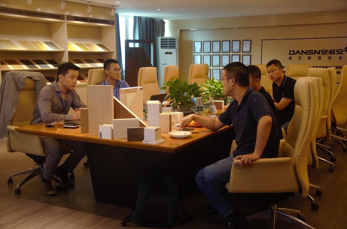 中国建材检验认证集团莅临安必安参观考察