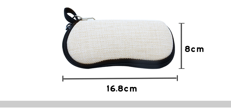 Size for Linen Glasses Case