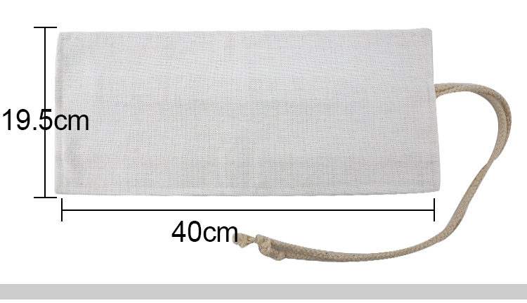 size for Linen Pencil Roll