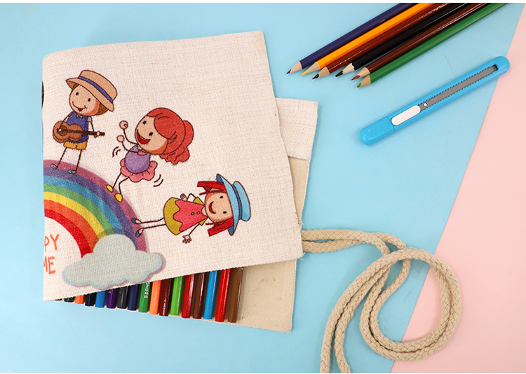 picture of Linen Pencil Roll
