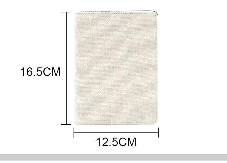 size for Linen Notebook-A6-with Blank Paper Inner