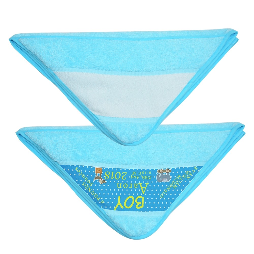 Baby Wrap Towel-Blue