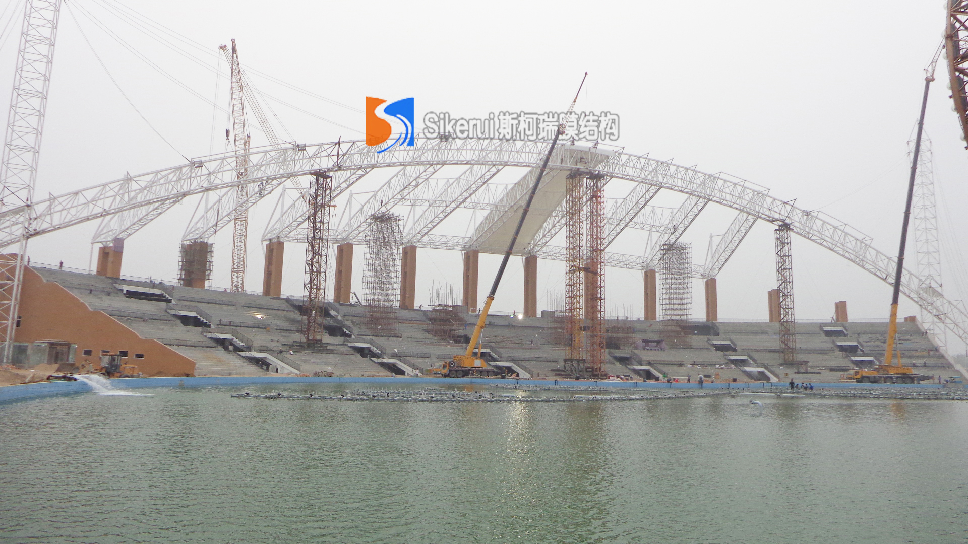 银基集团体育馆膜结构