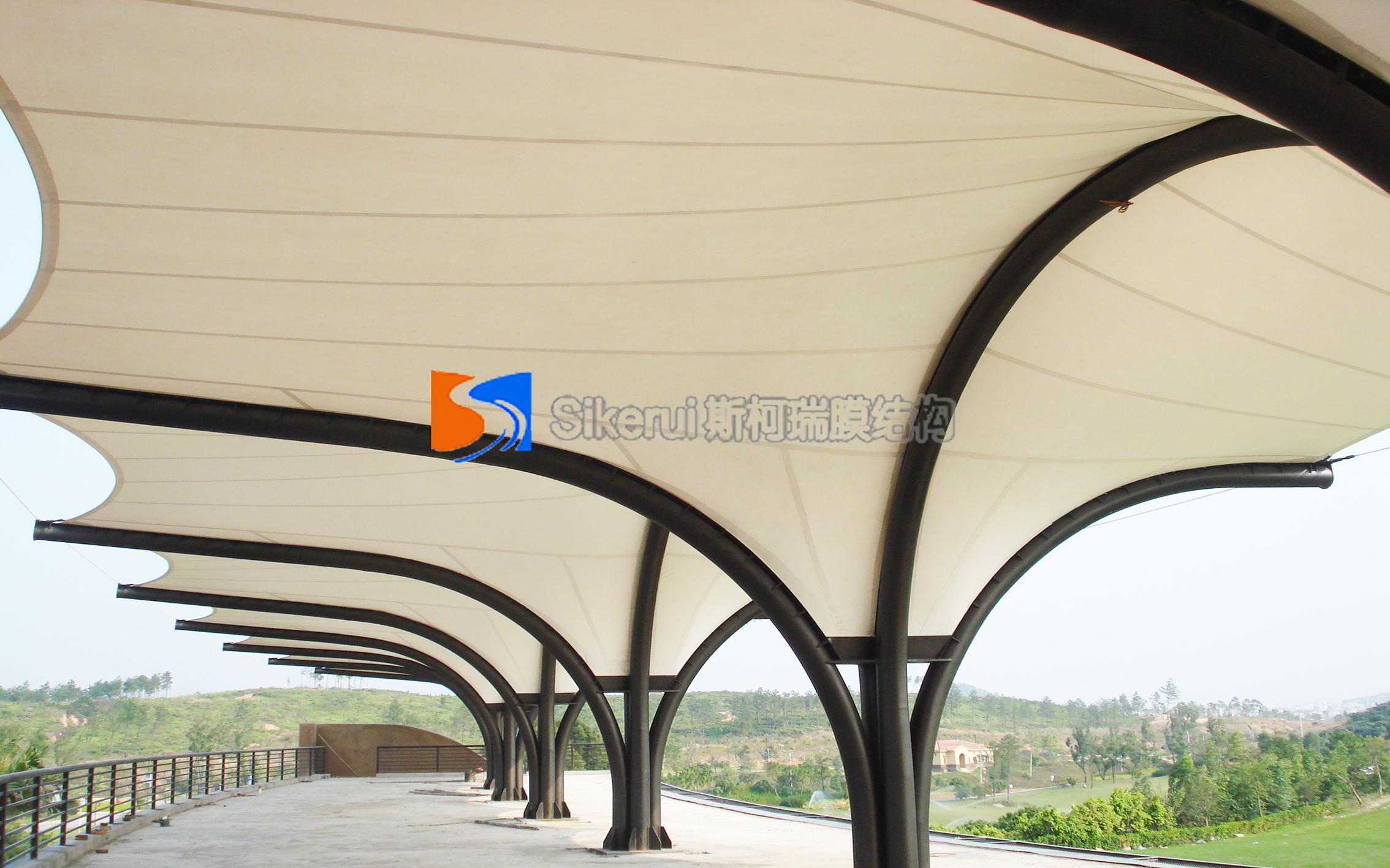 广州高尔夫球场膜结构项目