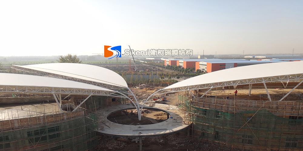 河南永城管委会多功能厅膜结构