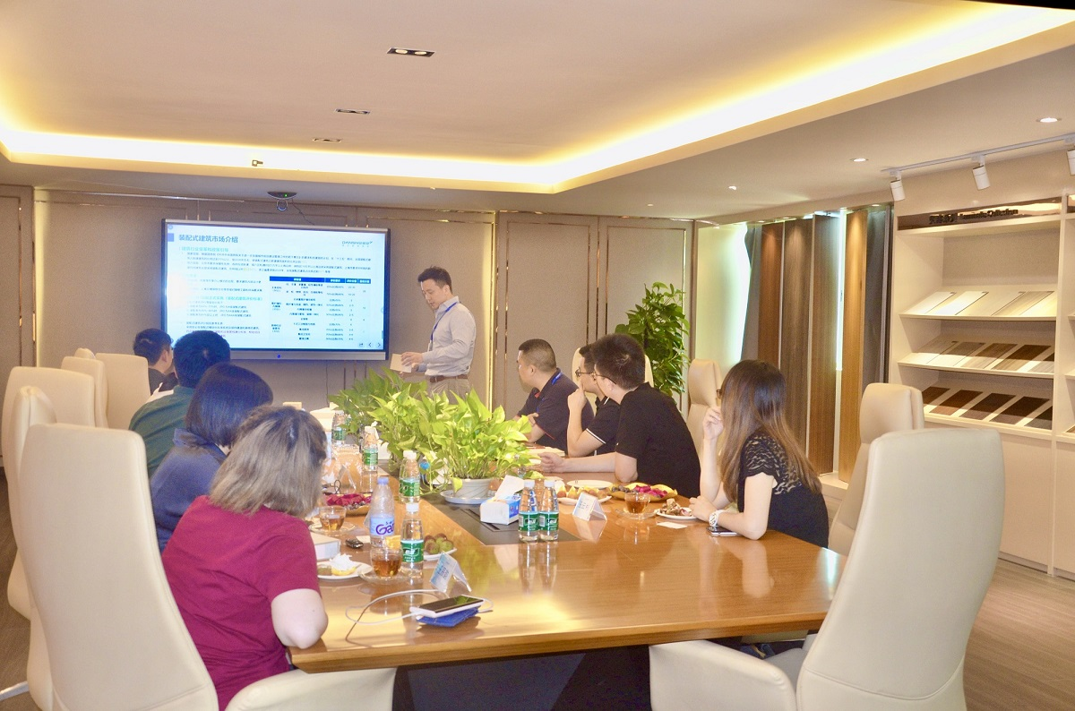China Visionary Group Visits DANSN