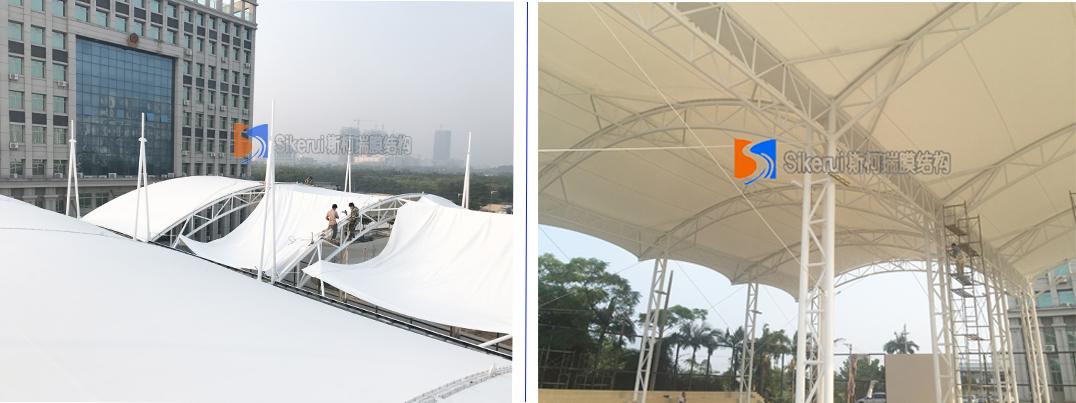 广西北海球场膜结构项目